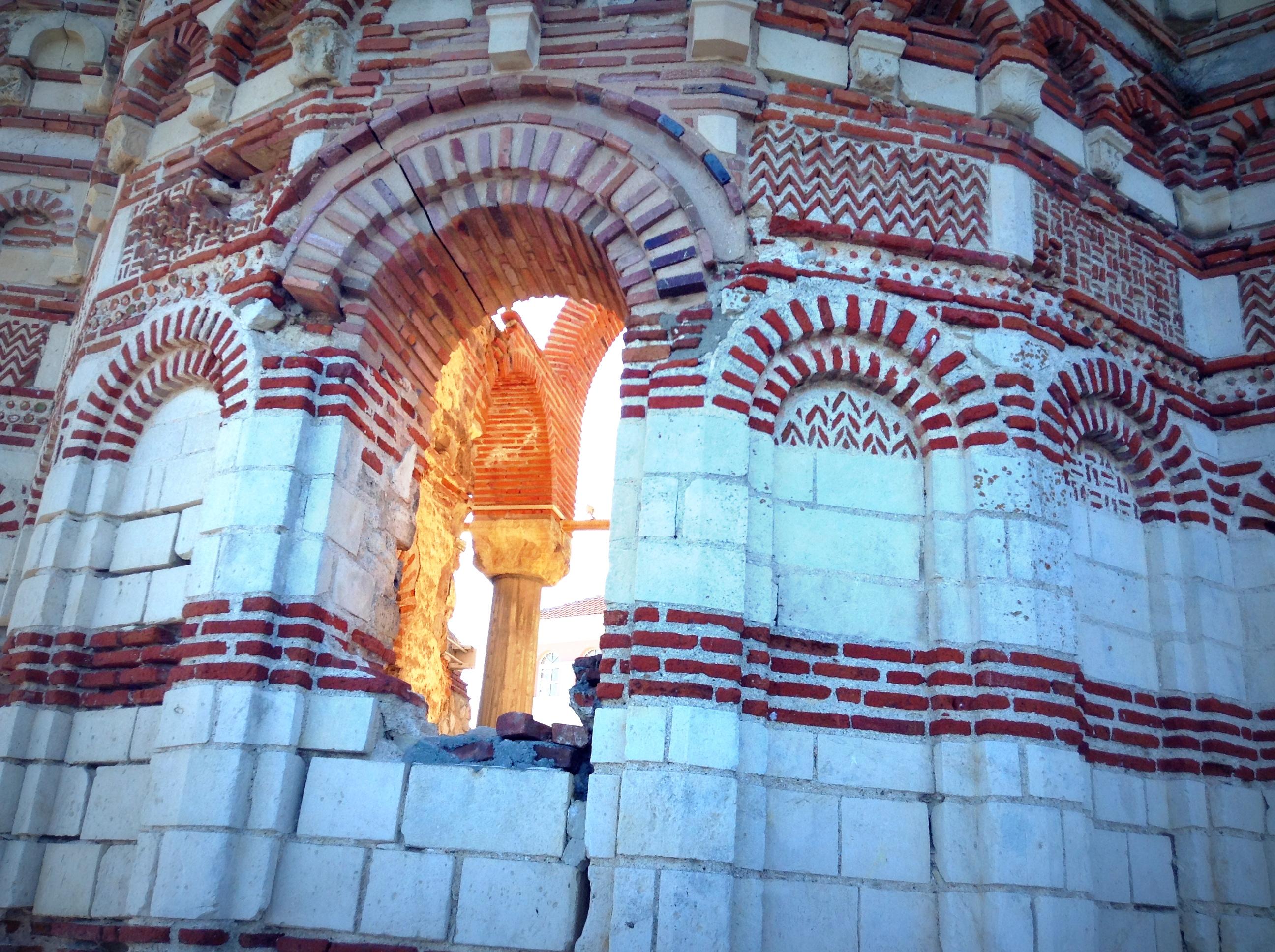 basilica medieval en Nesebar